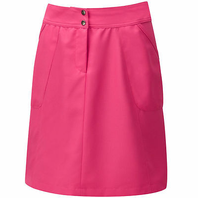 Cypress Point Donna Pantaloncini Da Golf /Gonna/Skort Brillante Rosa Fucsia