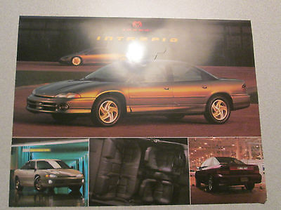 1993 Dodge Intrepid Brochure 2 Page Front and Back