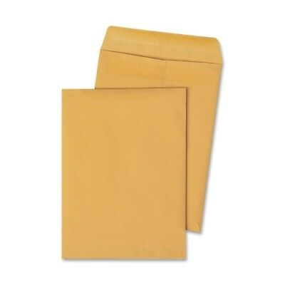 Quality Park Redi-Seal Catalog Envelope, 9 1/2 X 12 1/2, Brown Kraft, 250/box