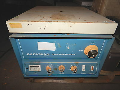Beckman TJ-6 Centrifuge with Rotor