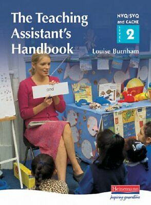 S/NVQ Level 2 Teaching Assistant's Handbook: A H... by Burnham, Louise Paperback