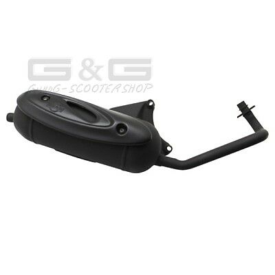 Exhaust Sito Plus with ABE Aprilia SR 50 Piaggio Fly ZIP 50 4T 4 Tackt Roller