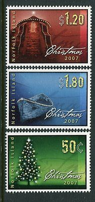 2007 Norfolk Island Christmas - MUH Complete Set