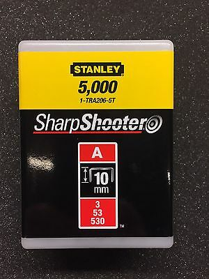 Stanley 1-tra206-5t Staples Type A 10 mm 5000 St For TR45,tr151y,tr150l