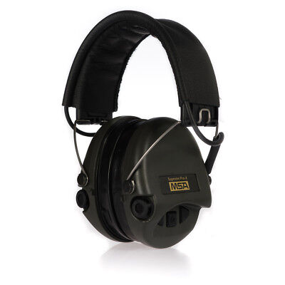 Msa Safety Sordin Supreme Pro X Ear Protection With Aux Entrance, Leather +