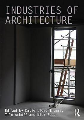 Industries of Architecture (English) Hardcover Book Free Shipping!