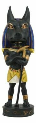 "Ancient Egyptian Legend God Anubis Dog Jackal Bobblehead Figurine Egypt Toy 7""h"