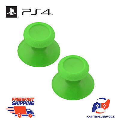 2 x Analogue Replacement Thumb sticks Grips Xbox One Analog Controllers - Green