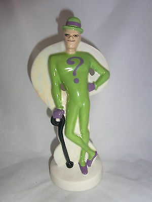 Wade Dc Comics Out Of The Blue Ceramics The Riddler Batmans Enemy