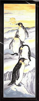 Penguins Counted Cross Stitch Kit