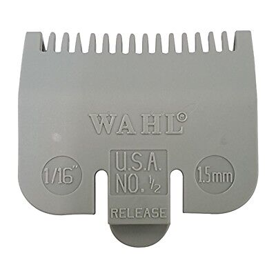 """1/16"""" Wahl Professional Attachment Clipper Guide Replacement Guard 1.5mm #1/2"""