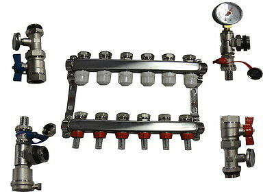 In Floor Heat Manifold 6 Loop-Branch/outdoor Wood Furnace Boiler,pex Manifolds