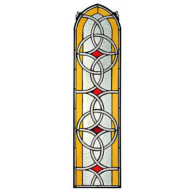 Design Toscano Celtic Knotwork Tiffany-Style Stained Glass Window