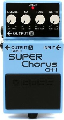Boss CH-1 CH1 Stereo Super Chorus Pedal New