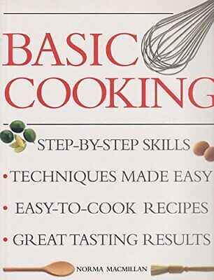 Basic Cooking by MacMillan, Norma Paperback Book The Cheap Fast Free Post