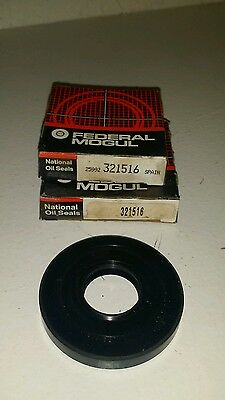 2/PACK of National Federal Mogul 321516 Oil Seals. FREE SHIPPING