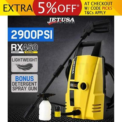 Jet-USA 2900 PSI High Pressure Water Washer Electric Gurney Pump Hose Cleaner