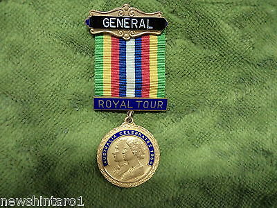 #d245.  1954 Medal For Royal Tour, Masonic Or Buffalo