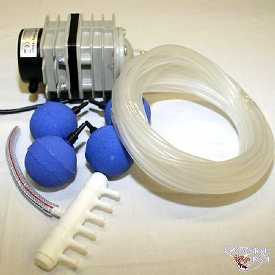 35 Ltr Piston Air Pump A.s. Offer Koi Pond Fish Filter