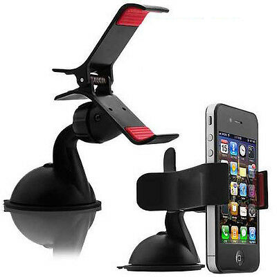 Wholesale 100x Rotating Clip Car Mount Holder Mobile Phones iPhone Samsung Black