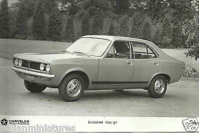 Sunbeam 1500 GT ( Hillman Avenger ) Chrysler UK Original Photograph 1970