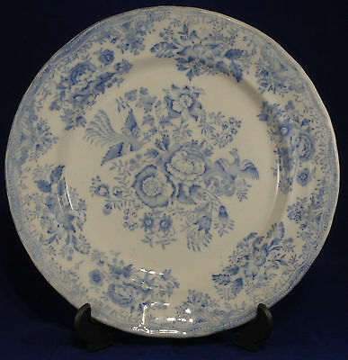 "Antique Pheasant Pattern 10"" Plate"