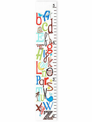 Stupell Industries The Kids Room ABC Growth Chart