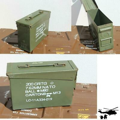 US ARMY Munitionskiste Muni-Kiste Metallkiste Metallbox Munikiste gr. 1 gebr.
