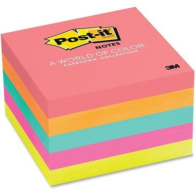"""""""Post-it Notes 3 x 3, Five Neon Colors, 5 100 Sheet Pads/Pack, PK - MMM6545PK"""""""