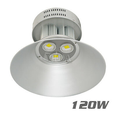 120W Watt LED High Bay Light Bright White Lamp Lighting Fixture Factory Industry