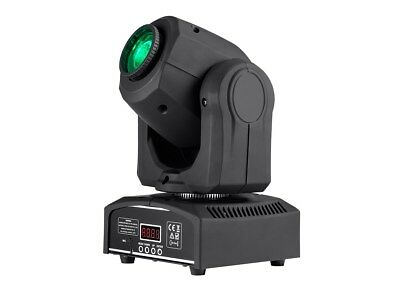 Monoprice Stage Beam 30 Watt LED Moving Head Light with 7 Colors