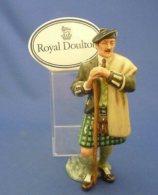 """THE LAIRD"" Royal Doulton England Bone China SCOTISH GENTLEMAN Figurine HN2361"
