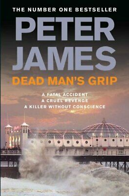 Dead Man's Grip by James, Peter Hardback Book The Cheap Fast Free Post