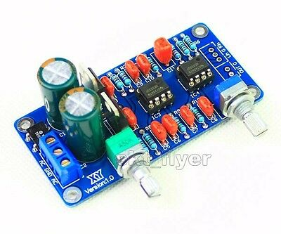 Low-pass Filter Subwoofer Process Circuit Frequency Volume NE5532 For Amplifer