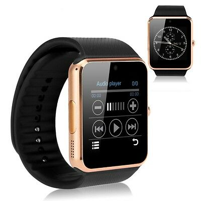 GT08 Bluetooth Smart Wrist Watch GSM Phone For Android IOS iPhone Smartphone God