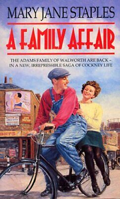 A Family Affair (The Adams Family) by Staples, Mary Jane Paperback Book The