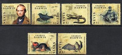 Nevis MNH 2009 The 200th Anniversary of the Birth of Charles Darwin