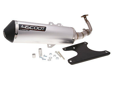 Exhaust Tecnigas 4scoot for Kymco Like, People S, Super 8 125cc 150CCM