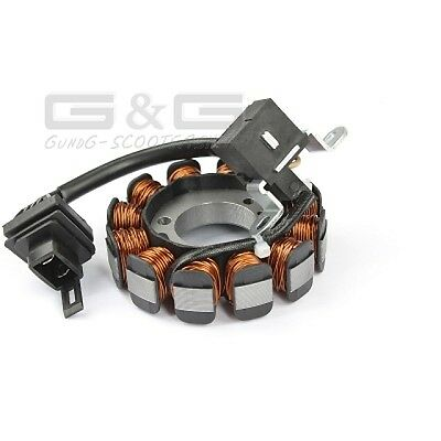 Alternator Stator for Piaggio Vespa ET4 LX Zip Liberty Fly 4T 2V 50/100cc