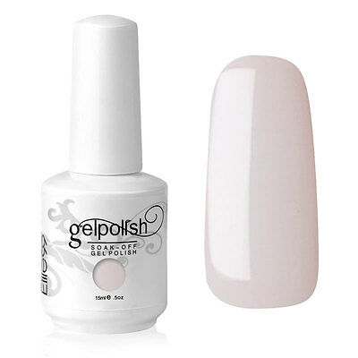 Elite99 Esmalte de Uña Gel Color de Piel Perla Soakoff UV LED Manicura Arte 15ml