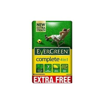 Evergreen Complete Lawn Care Food Weed & Moss Killer 4 in 1 Feed Grass Garden