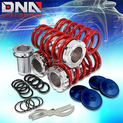 "For 00-05 Dodge Neon/srt-4 Pl 0-3""scaled Suspension Black Coilover Red Springs"