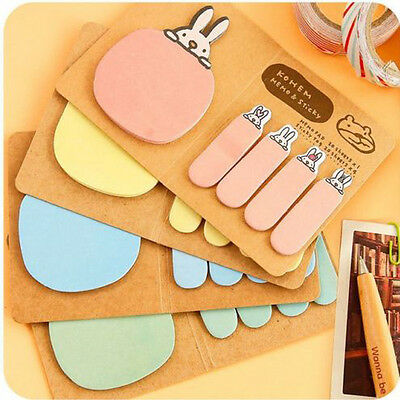 1pc Cute Sticker Bookmark Marker Memo Flags Index Tab Sticky Note Kang