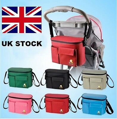 Stroller Pram Bag Baby Nappy Changing  Set Mummy Handbag Diaper pushchair bag