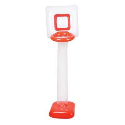 6.5 Feet Inflatable Blow Up Basketball Net + Ball - Kids Bedroom Novelty Toy