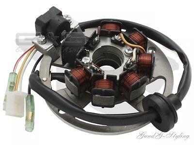 Alternator Ignition Stator 4-Pin CPI Generic Keeway 2T 50 cc China Scooter