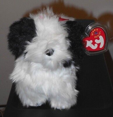 Ty Beanie Baby ~ POOFIE the Dog ~ MINT with MINT TAGS ~ RETIRED
