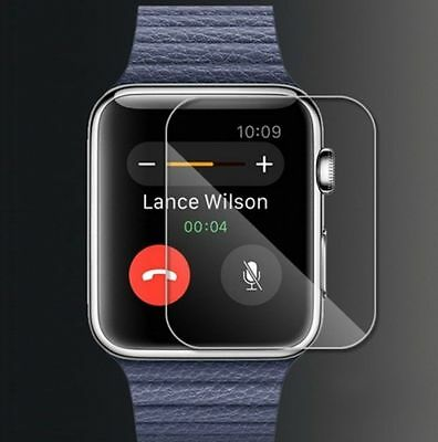 Tempered Glass Screen Protector Film For Apple Watch iWatch 38mm & 42mm