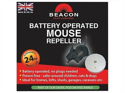 Beacon Rentokil Battery Operated Mouse Rodent Repeller deterrent