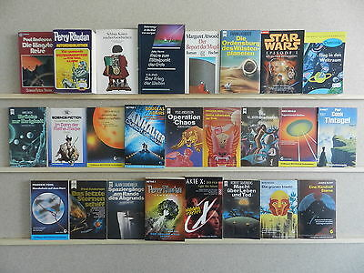 50 Science Fiction Romane SF Sammlung Büchersammlung Bücherpaket Nr. 200